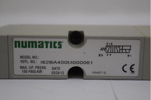 solenoid valve i62ba400m000061 numatics