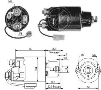solenoide o automatico daihatsu subaru zm 704