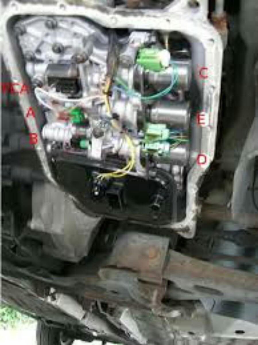 Solenoides De Cambio  Control Epc  Fluido Mazda Lader Focus