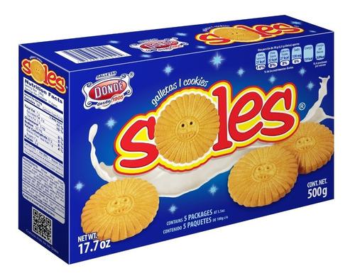 soles 500g.- galletas dondé