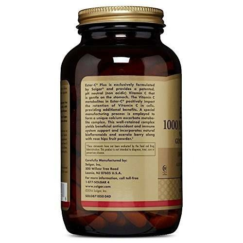solgar - ester-c plus vitamina c (complejo de ascorbato este