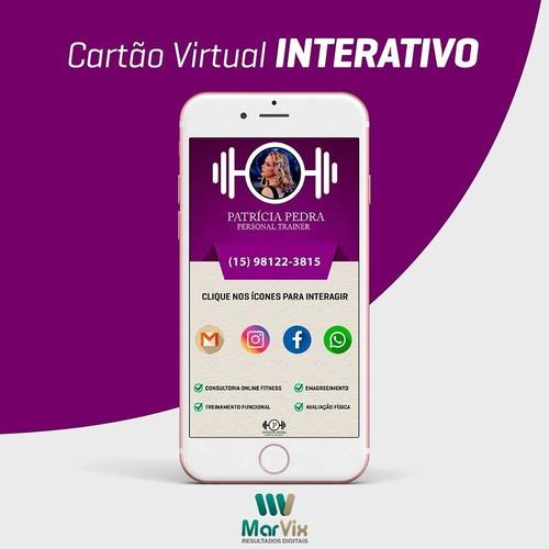 solicite seu cartão interativo virtual