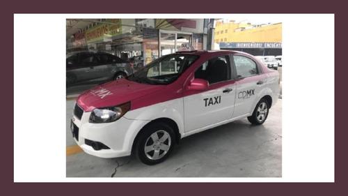 solicito chofer taxi aveo 2017