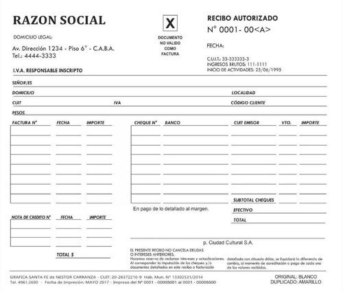 solicitud cai ( para imprimir facturas) , monotributo