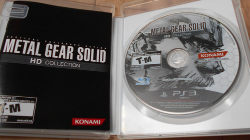 solid collection ps3 metal gear