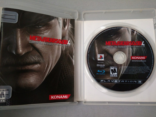 solid ps3 metal gear