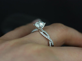 8c86b0538 Diamantes Ouro - Anel Solitário Feminino no Mercado Livre Brasil