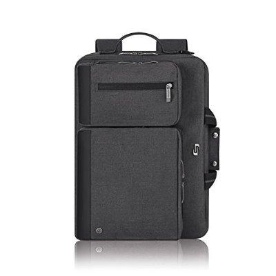 solo 15.6  laptop hyrbid maletín mochila, gris, ubn310-10