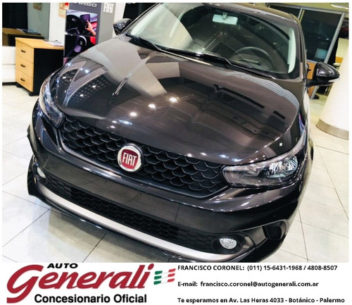 solo 90 mil fiat argo 1.3 drive gse base flh