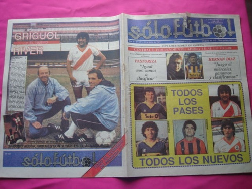 solo futbol n° 107 chile subcampeon, uruguay campeon sudam