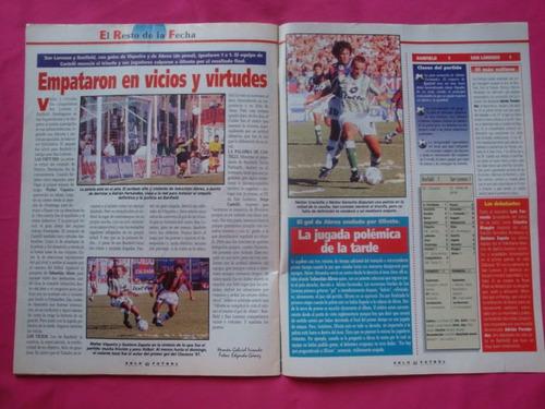 solo futbol n° 610 año 1997 - poster boca juniors