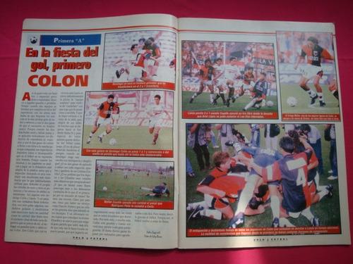 solo futbol n° 617 año 1997 colon, newells, velez,