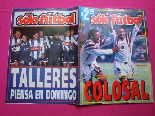 solo futbol n° 623 año 1997 poster: cipolletti rio negro