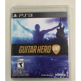 Solo Juego, Guitar Hero Live Ps3, Perfecto Estado