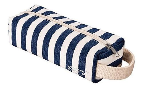 sólo por hoy la caja de lápiz de kawaii de color azul y blan