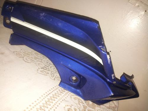 solo spoiler inferior bera x1 derecho en azul usado