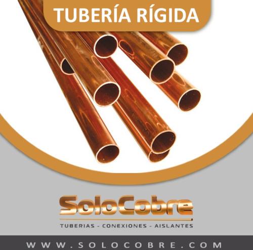 solocobre tuberias de cobre-conexiones-armaflex- instalación