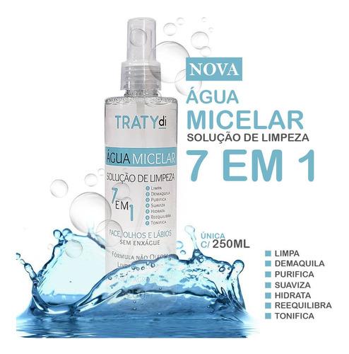 solucao de limpeza facial agua micelar 250ml demaquilante