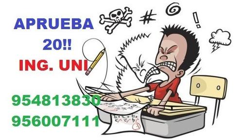 soluciòn de exámenes por whatsapp uni a-1
