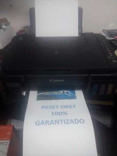 solución canon g2100 g3100. absorbedor de tinta esta lleno.