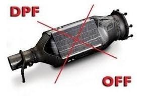 solucion filtro dpf - dpf off