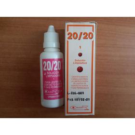 Solucion Limpiadora 20/20 Lentes Gas Permeables