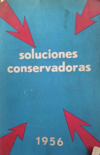 soluciones conservadoras. primer congreso del centro general