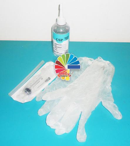 solução de limpeza de impressora + acessórios epson 100ml