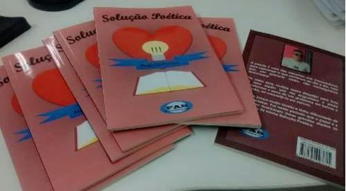 solução poética -livro de poesia  - literatura nacional