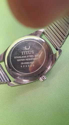 solvin & titus.17 rubis.  antiguo reloj años 50. restaurado.