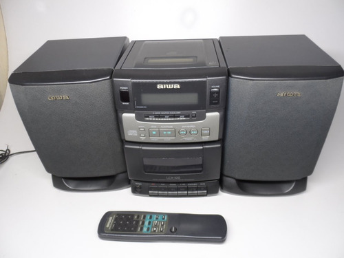 som antigo aiwa raro não funcion cassete modelo lcx-100 disp