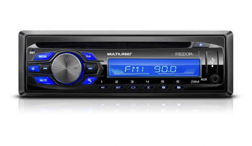 som automotivo mp3 player multilser freedom radio cd usb