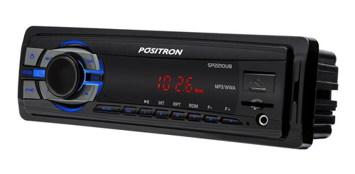 som automotivo toca mp3 usb frontal sd radio fm positron