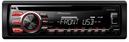 som de carro pioneer cd player deh 1750 radio aux mp3 usb