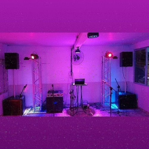 som e iluminação para festa e eventos