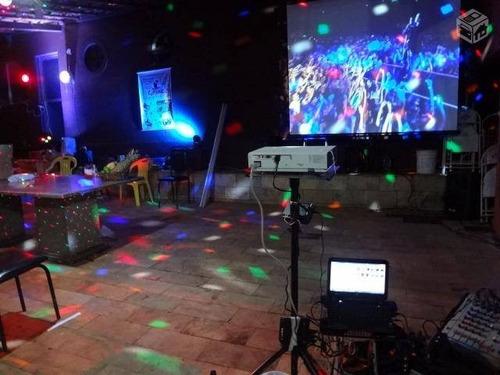 som e iluminação para festas, 15 anos, casamentos, aluguel