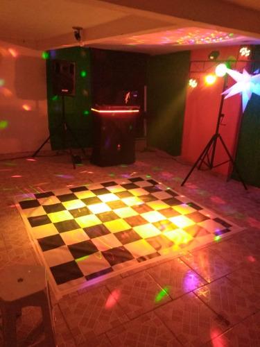 som iluminação festas