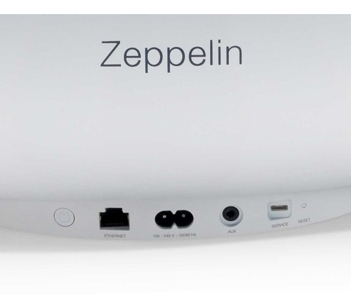 som maior - bowers-wilkins zeppelin wireless - branco.