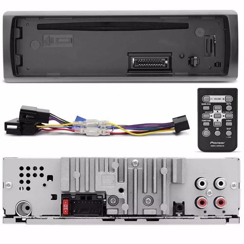 som mp3 pioneer deh-s1080ub + controle remoto usb fm am