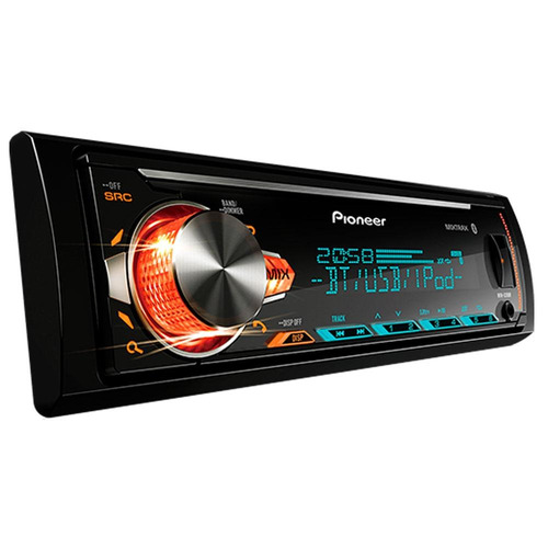 som mp3 player pioneer mvh-x30br bluetooth android iphone