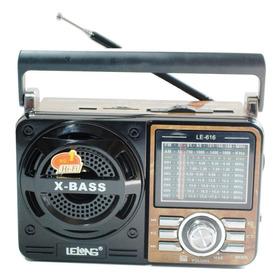 Som Mp3 Rádio Am/fm/sw1-7 Portátil Energia Bivolt Pilhas Mdf