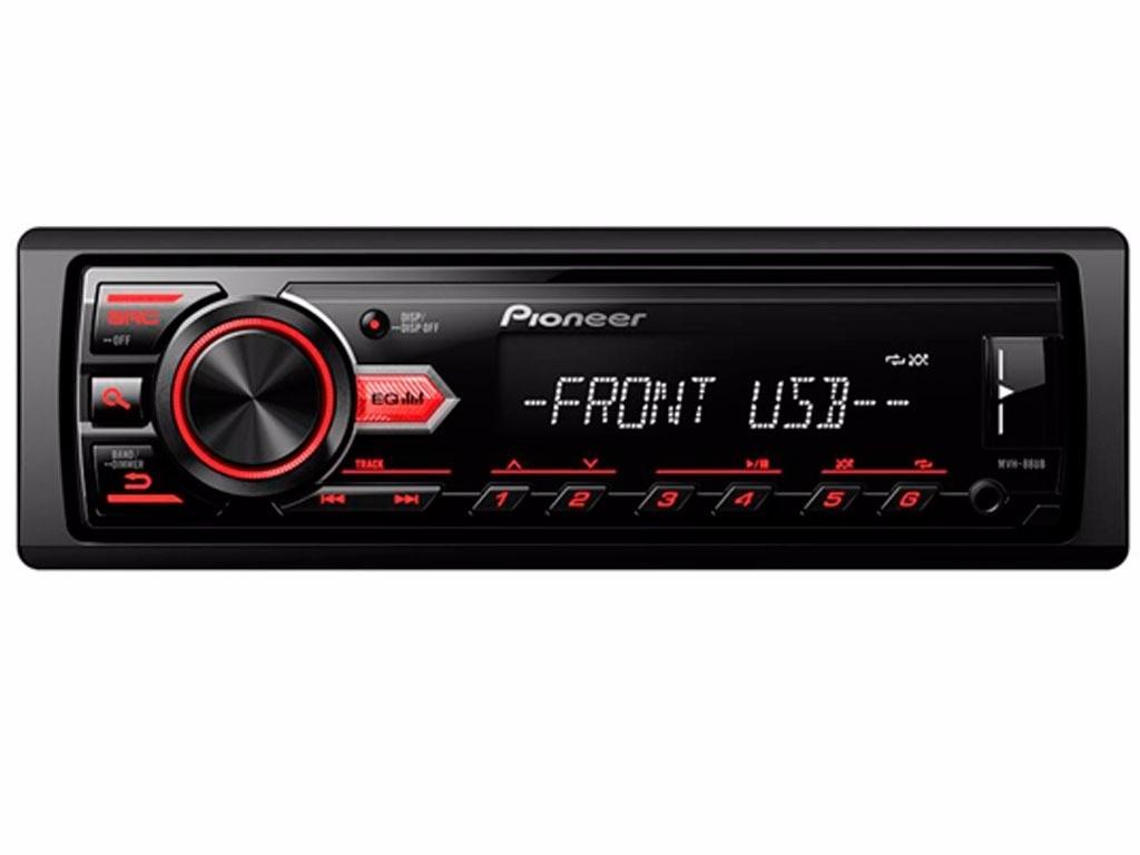 Som Radio Carro Player Automotivo Mvh 88ub Mp3 Usb Pioneer