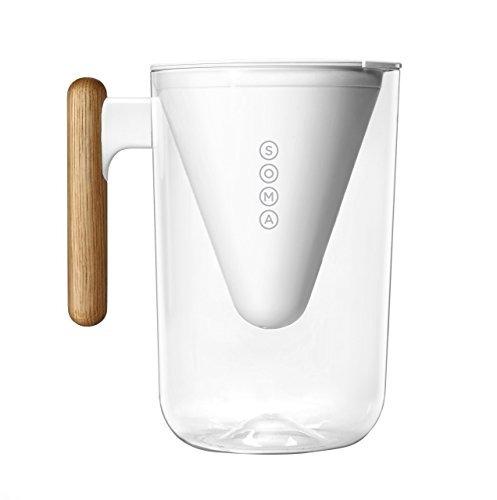 soma pitcher sostenible y base-plant filtro de agua