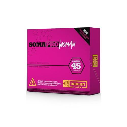 soma pro woman 45 cápsulas - original - iridium labs