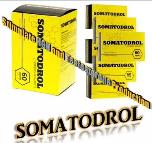 somatodrol aumento de masa muscular 100%efectivo