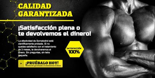 somatodrol suplemento masa muscular definidor musculo