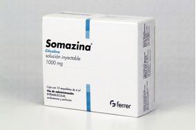 Somazina 1000 Mg 1 Caja 10 Ampolletas 4 Ml