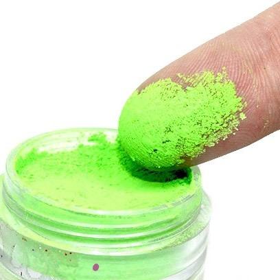 sombra fluorescente verde asa de borboleta maquiagem audrei
