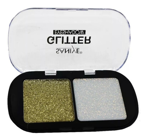 sombras glitter saniye e0216 (caja con 24 piezas)