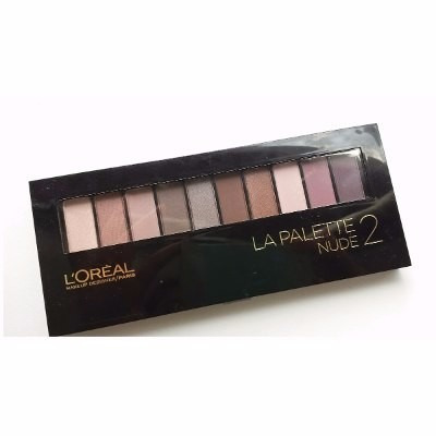 sombras palette nude 2 - l'oreal